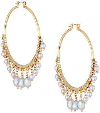 Nakamol Multi-Pearl Statement Earrings
