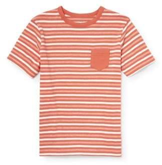 Children s Place The Short Sleeve Stripe Pocket Tee Shirt (Little Boys    Big ... 17c051388