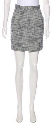 Tibi Tweed Mini Skirt