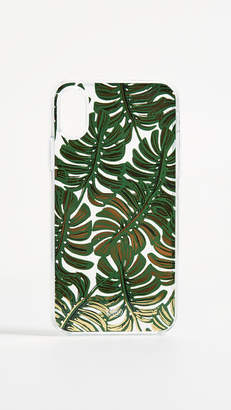 Rifle Paper Co. Clear Monstera iPhone X Case