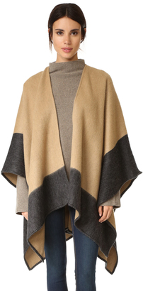 Rag & Bone Double Faced Wrap Scarf $425 thestylecure.com