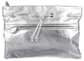 Rochas Metallic Coloniale Clutch