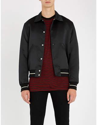 The Kooples Skull-lining satin jacket