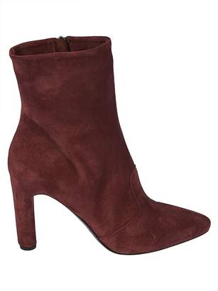 Roberto Del Carlo Zipped Ankle Boots