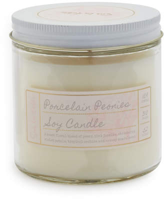 Sur La Table Porcelain Peonies Soy Candle