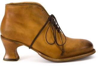 Cherevichkiotvichki chunky heel brogue boots
