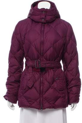 Burberry Hooded Down Jacket