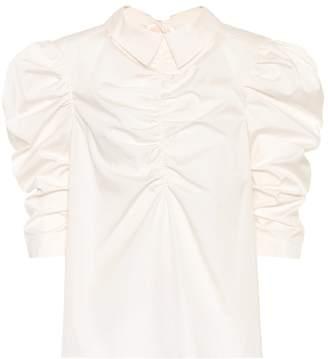 Isa Arfen Cotton poplin shirt