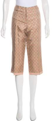 Magaschoni Cropped Mid-Rise Pants