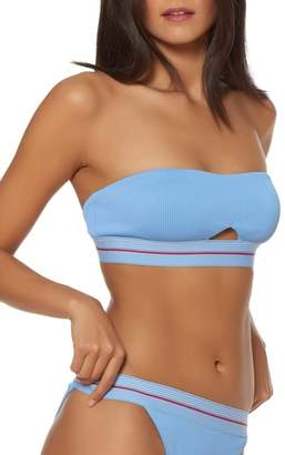 Dolce Vita Peekaboo Bandeau Bikini Top