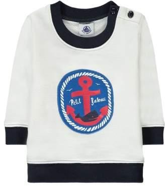 Petit Bateau Sale - Marking Anchor Patch Sweatshirt