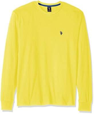 U.S. Polo Assn. Men's Long Sleeve Crew Neck T-Shirt