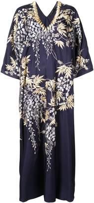 Josie Natori Vines Square caftan dress