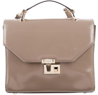 Rebecca Minkoff Glazed Leather Satchel $110 thestylecure.com