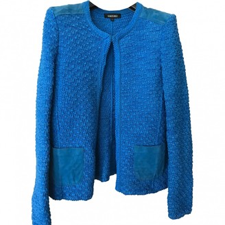 Georges Rech Blue Cotton Jacket for Women