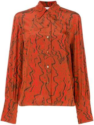 Chloé abstract print shirt
