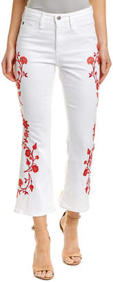 AG Jeans The Jodi White Flare Crop