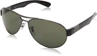 6597e394d7 Ray-Ban 0RB3509 004/9A Polarized Active Lifestyle Pilot Sunglasses