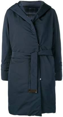 Max Mara hooded padded coat