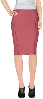 Liu Jo Knee length skirts - Item 35255995GO