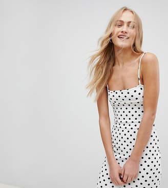 Daisy Street 90'S Cami Dress In Polka Dot