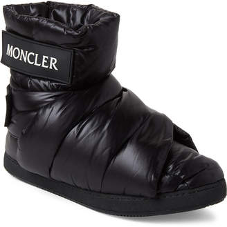 Moncler Black Quilted Insulated Boots