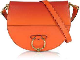 J.W.Anderson Gradient Tangerine Leather Latch Bag