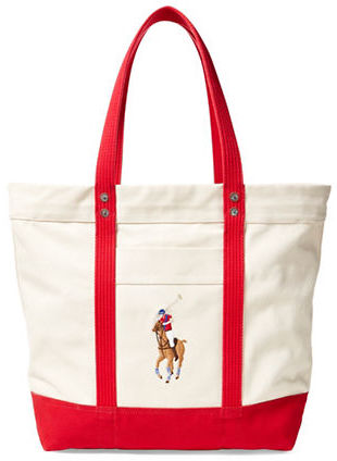 Polo Ralph Lauren Polo Ralph Lauren Big Pony Canvas Tote