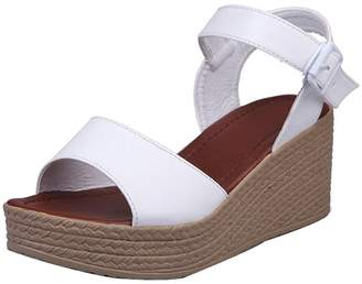 182eed881fbe at Amazon Canada · Inkach Women Sandals Open Toe High Heels Sandals Ankle  Strap Summer Shoes (5.5 US
