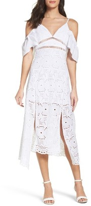 Women's Bardot Camila Midi Dress $139 thestylecure.com