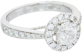 Diana M Fine Jewelry 18K 1.55 Ct. Tw. Diamond Ring