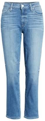 Paige Transcend Vintage - Brigitte High Waist Crop Boyfriend Jeans