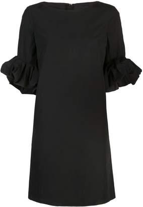Paule Ka ruffled sleeve dress