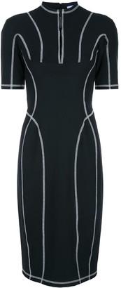 Thierry Mugler Scuba robe mid-length dress