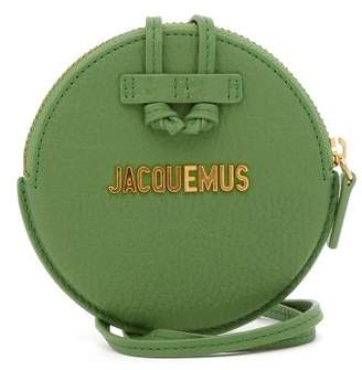 Jacquemus Le Pitchou Leather Coin Purse - Womens - Green