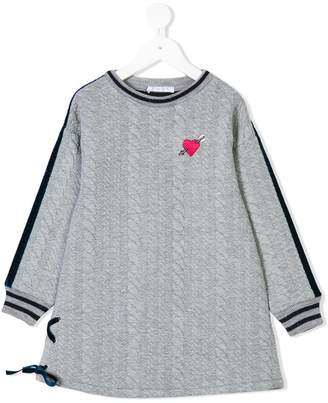 Elsy arrow heart knit jumper