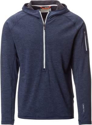Ortovox Light Melange Hooded Zip-Neck Fleece Pullover - Men's