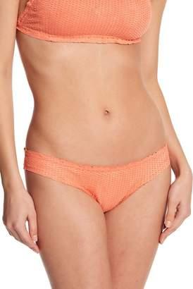 Vix Textured Scale Brief Bikini Bottom