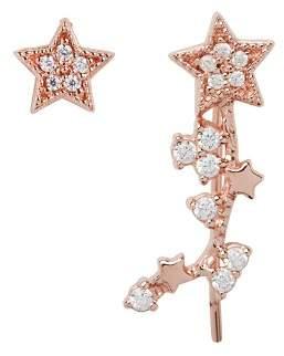 Olivia Burton Celestial Star Ear Crawler & Stud Earring Set