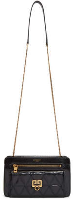 Givenchy Black Quilted Pocket Bag