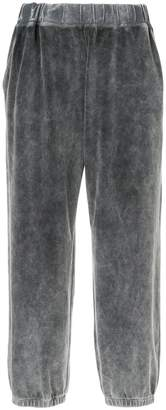 Alexander Wang velour track pants