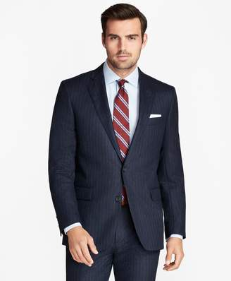 Brooks Brothers Regent Fit Flannel Stripe 1818 Suit