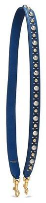 Dolce & Gabbana Embellished Textured-leather Shoulder Bag Strap