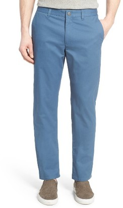Men's Bonobos Straight Washed Stretch Chinos $98 thestylecure.com
