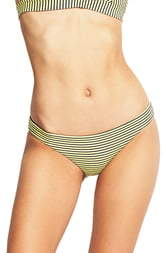 Seafolly Go Overboard Striped Hipster Bikini Bottoms