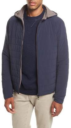 Loro Piana Rain Down Hooded Jacket