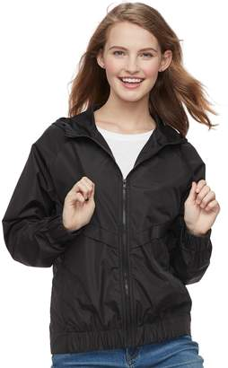 UNIONBAY Juniors' Marcie Hooded Windbreaker Jacket
