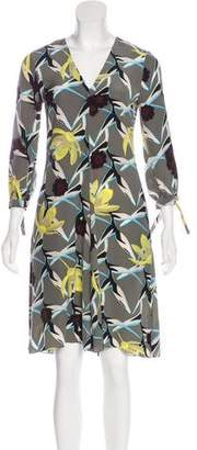 Schumacher Dorothee Silk Floral Dress