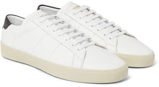 Saint Laurent SL/06 Court Classic Leather Sneakers - White