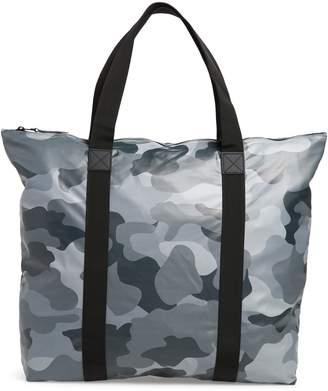 Rains Camo Print Tote Bag
